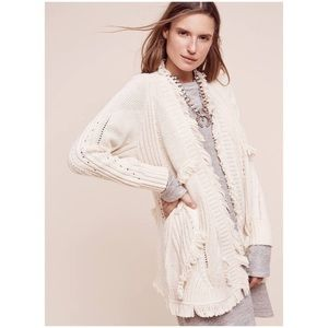 Roma Fringed Cardigan from Anthropologie